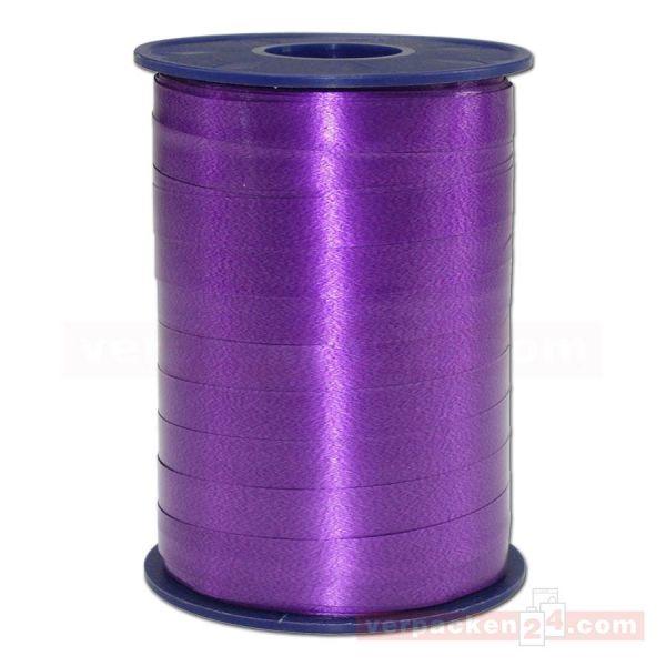 Glanzband auf Rolle 250 mtr., 9 mm - violett (610)