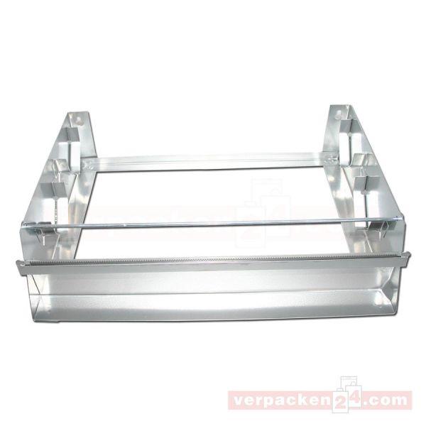 Rollenhalter aus Metall, 2-fach - 30 cm
