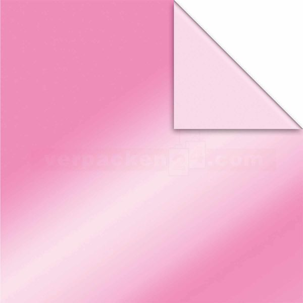 Geschenkpapier, neutral St 916066, Roll 50 cm - beere/rosa