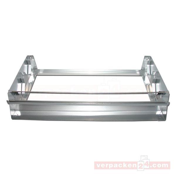 Rollenhalter aus Metall, 2-fach - 45 cm