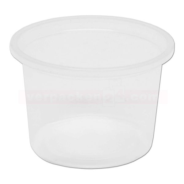 Dressingbecher KR rund - Becher - transparent PP
