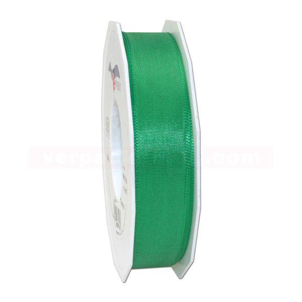 Seidenband - Europa - Rolle 50 m, 25 mm - grün (607)