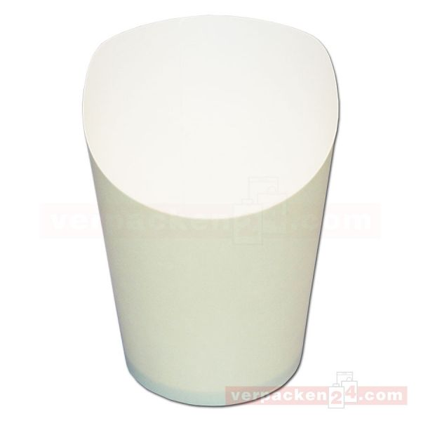 Wrap-Cup beige - neutral - aus Hartpapier - 80x98mm (6 oz)