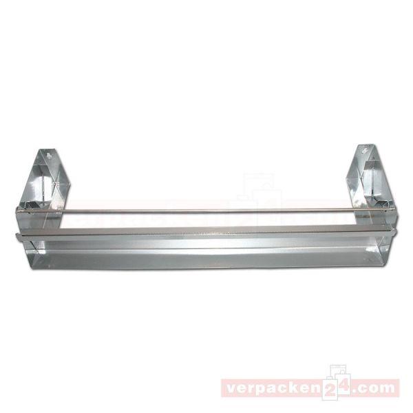 Rollenhalter aus Metall, 1-fach - 45 cm