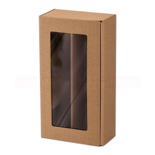 Geschenkkartons - Flaschenverpackung - Passepartout Modern Natur