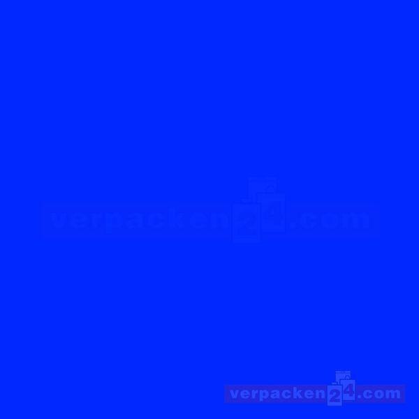 Blumenseiden, weiß Recycling, blau - Rolle - 75 cm