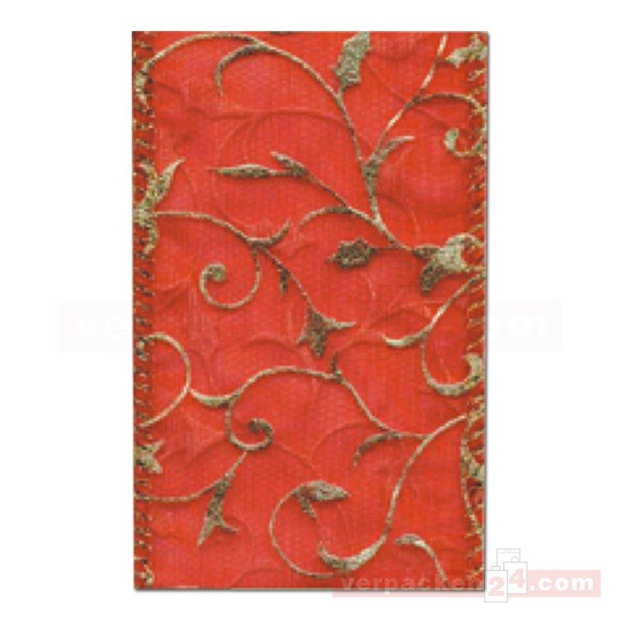 schleifenband weihnachten toledo rolle rot verpacken24. Black Bedroom Furniture Sets. Home Design Ideas