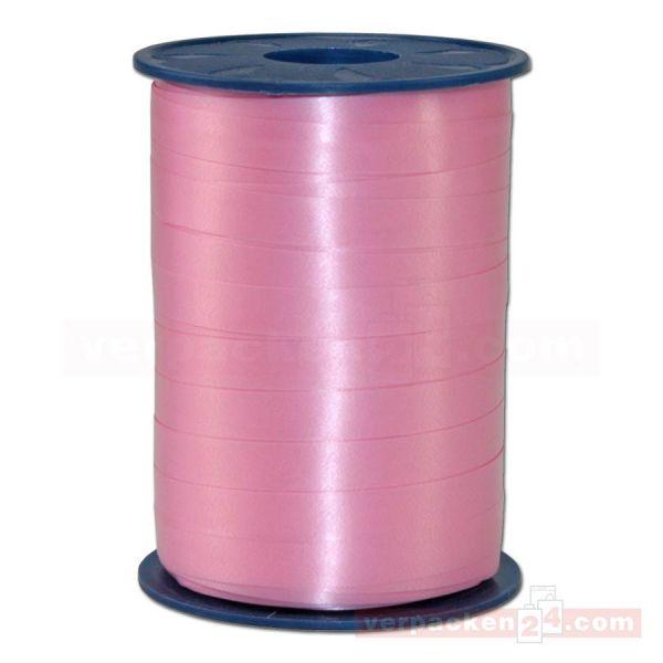 Glanzband auf Rolle 250 mtr., 9 mm - rosa (020)