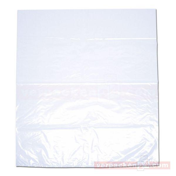 LDPE-Flachbeutel, lose, transparent - 65x75 cm - 30µ