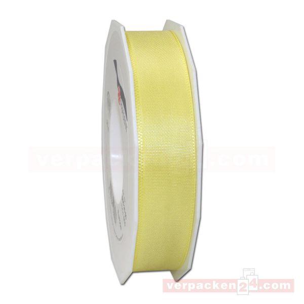 Seidenband - Europa - Rolle 50 m, 25 mm - gelb (615)