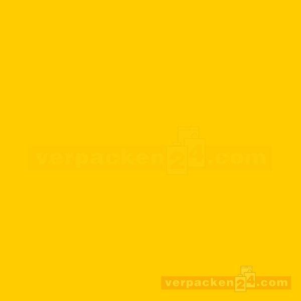 Blumenseiden, weiß Recycling, gelb - Rolle - 75 cm