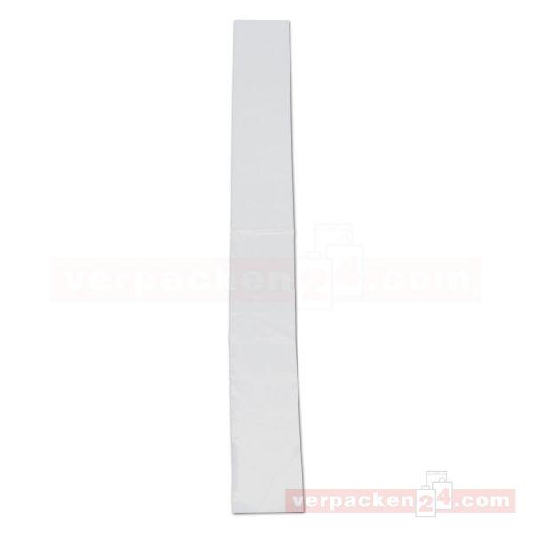 LDPE-Flachbeutel, lose, transparent - 9x75 cm - 25µ