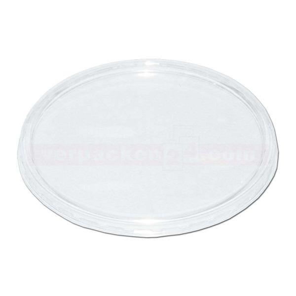 Feinkostbecher NP rund - Deckel - Polystyrol klar - Nr. 160/560