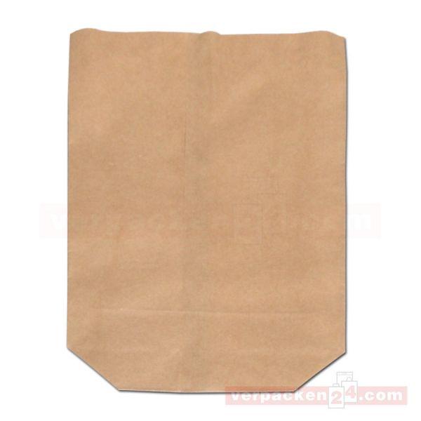 Bodenbeutel Pergament-Einlage, braun Natron