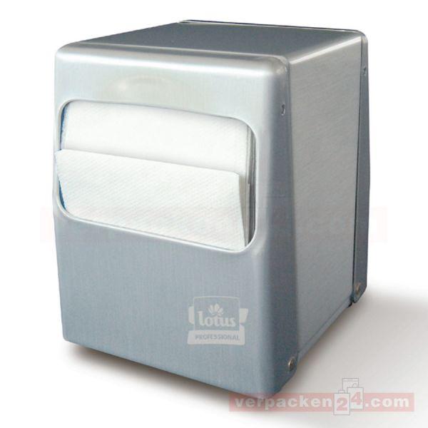 Spenderservietten Compact, Servietten-Spender, Metall - klein