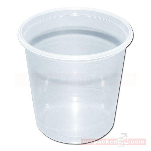 Feinkostbecher NP rund - Becher - Polypropylen klar - 200 g