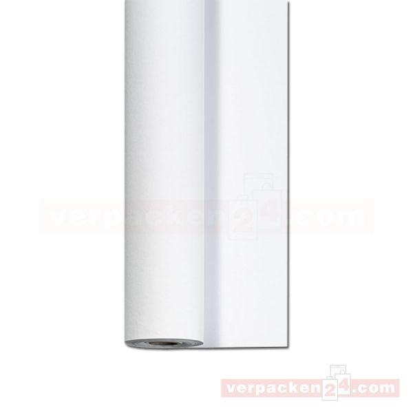 DUNI Dunicel-Tischtuch, Rolle 25 m - 125 cm - weiß