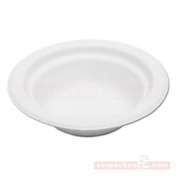 Chinet weiß, Holzschliff, Suppenschale, rund 16 oz - 400 ml