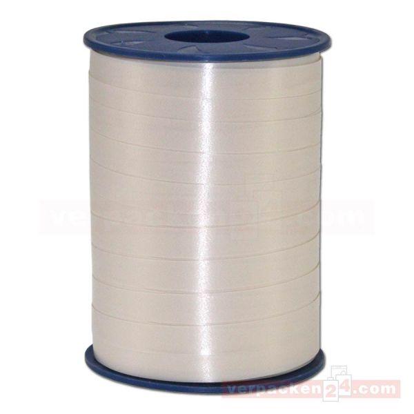 Glanzband auf Rolle 250 mtr., 9 mm - beige (004)