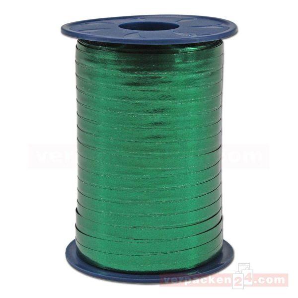 Glanzband metallisiert - 5 mm - Rolle 400 m - dunkelgrün (035)