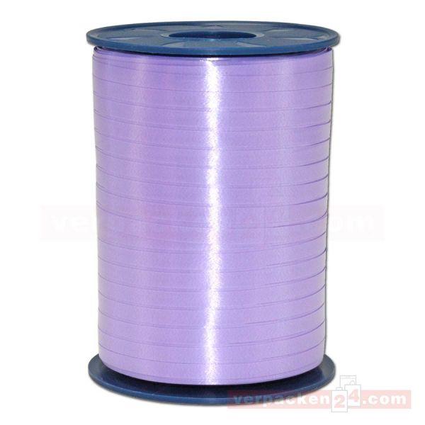 Glanzband auf Rolle 500 mtr., 5 mm - flieder (024)