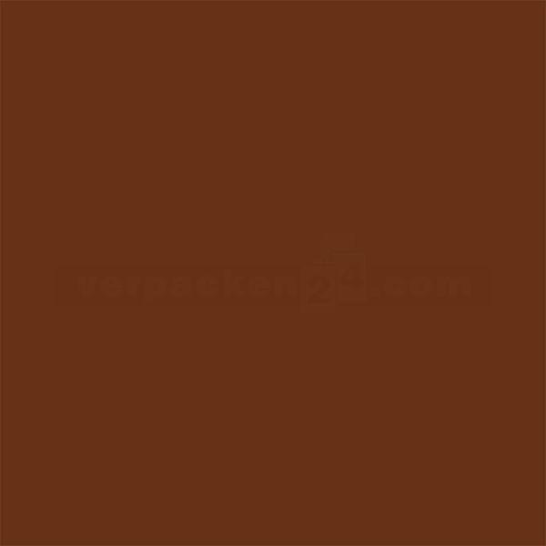Packseiden, farbig, 26 Bögen - 1/2 Bogen - braun (70)