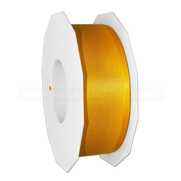 Seidenband - Europa - Rolle 50 m, 40 mm - gold gelb (705)