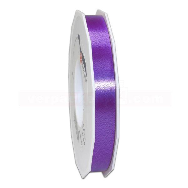 Glanzband auf Rolle 091 mtr., 15 mm - violett (610)