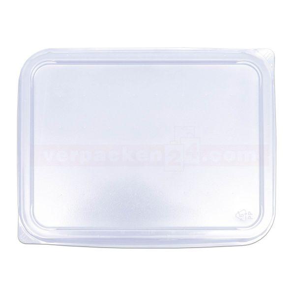 Verpackungsschale KR eckig - nur Deckel - PP glasklar