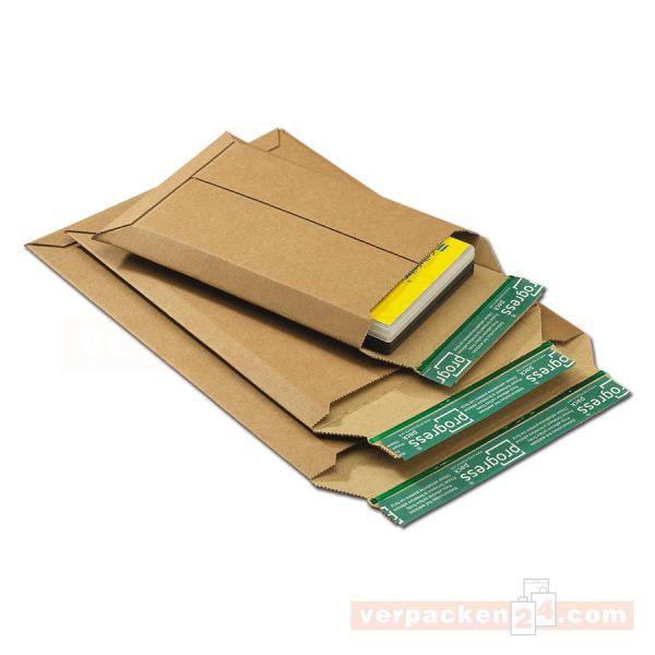 Wellpappe - Versandtaschen, braune Mikrowelle - SKL