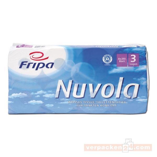 Toilettenpapier, Haushaltsrollen, Tissue, weiß - 3-lagig