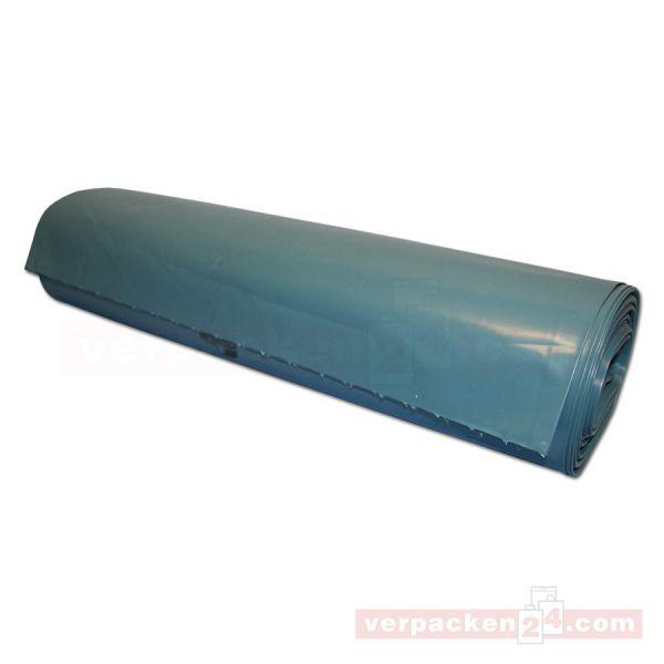 Polyabfallsäcke, Rolle blau - 70x110cm - Typ 60