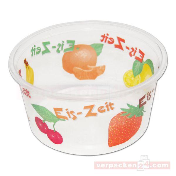 Eisbecher Eis-Zeit - Becher ? Polypropylen transparent