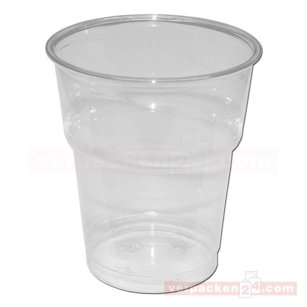 Clear Cup Becher - Ausschankbecher PET, klar