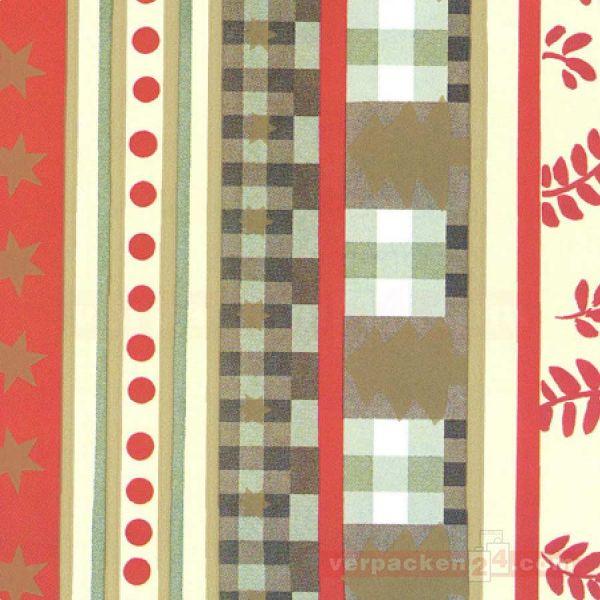 Weihnachts Geschenkpapier W 49209, Rolle 50 cm