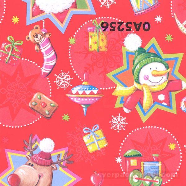 Weihnachts Geschenkpapier Zo 0A5256, Rolle 50 cm