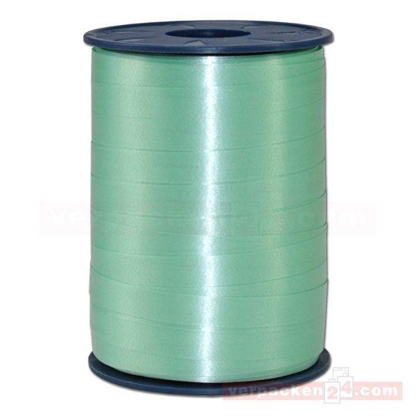 Glanzband auf Rolle 250 mtr., 9 mm - lindgrün (036)