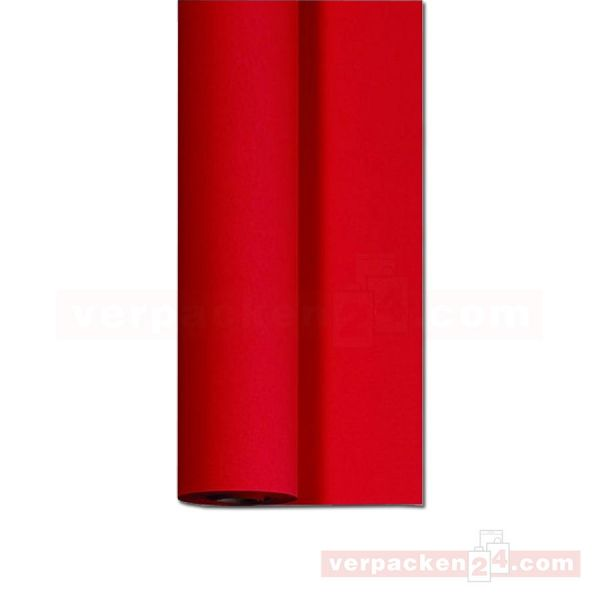 DUNI Dunicel-Tischtuch, Rolle 25 m - 125 cm - rot