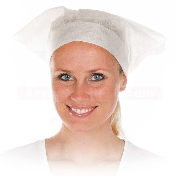 Kopftuch mit Bändern - Hygostar - aus PP-Vlies
