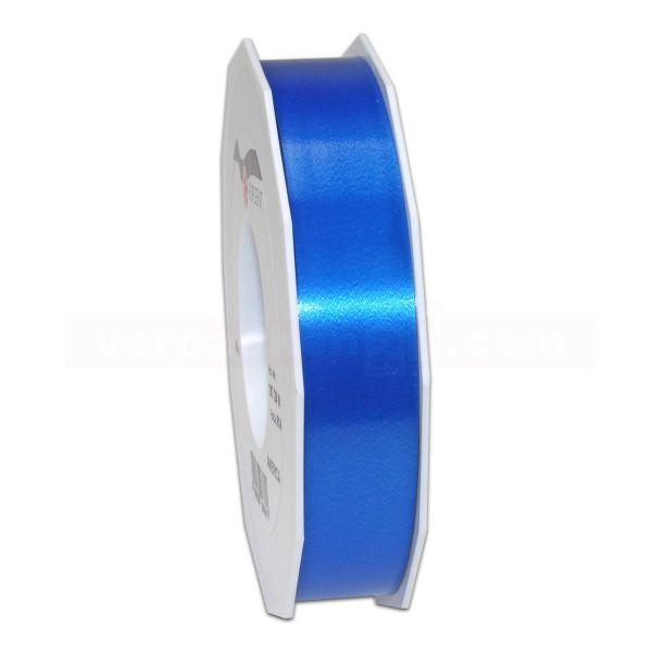 Glanzband auf Rolle 091 mtr., 25 mm - blau (614)