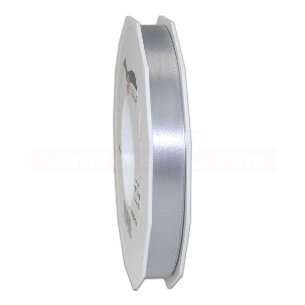 Glanzband auf Rolle 091 mtr., 15 mm - silber (631)