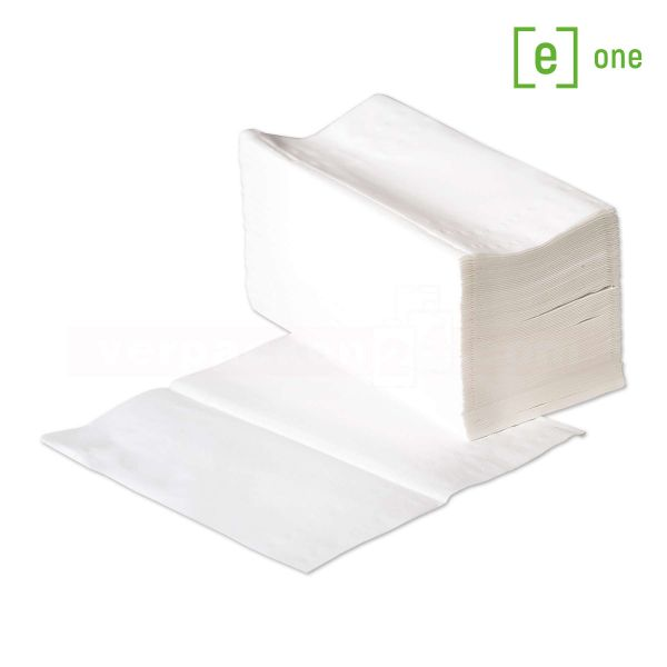 Handtuchpapier e3 - 2-lagig, V-Falz - Falthandtuch - 24x21cm