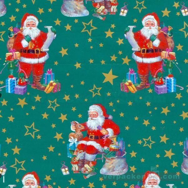 Weihnachts Geschenkpapier W 7020, Rolle 50 cm