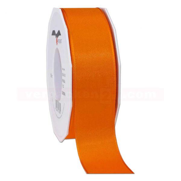 Seidenband - Europa - Rolle 50 m, 40 mm - orange (620)