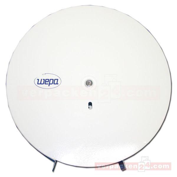 Toilettenpapierrollen-Spender, Metall - Jumbo 37 cm