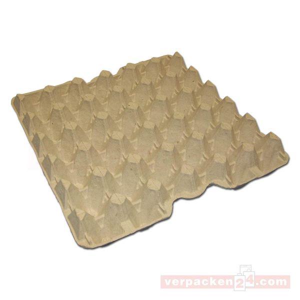 Eierverpackung aus Holzschliff, kompostierbar - für 30 Eier
