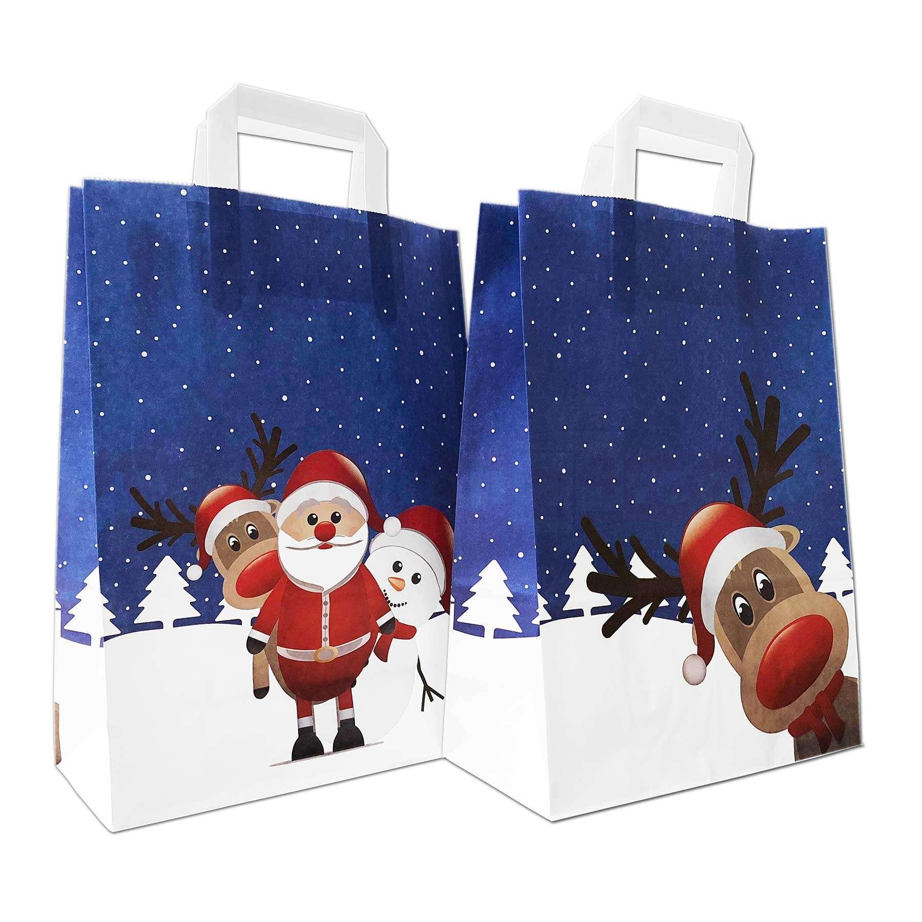 Weihnachtstragetaschen, Christmas Friends - Wintermotiv ...