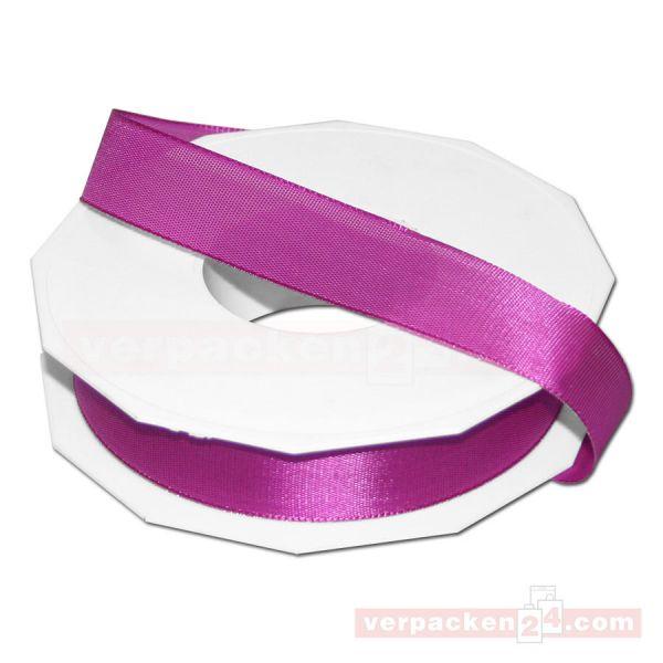 Seidenband - Europa - Rolle 50 m, 25 mm - pink (616)