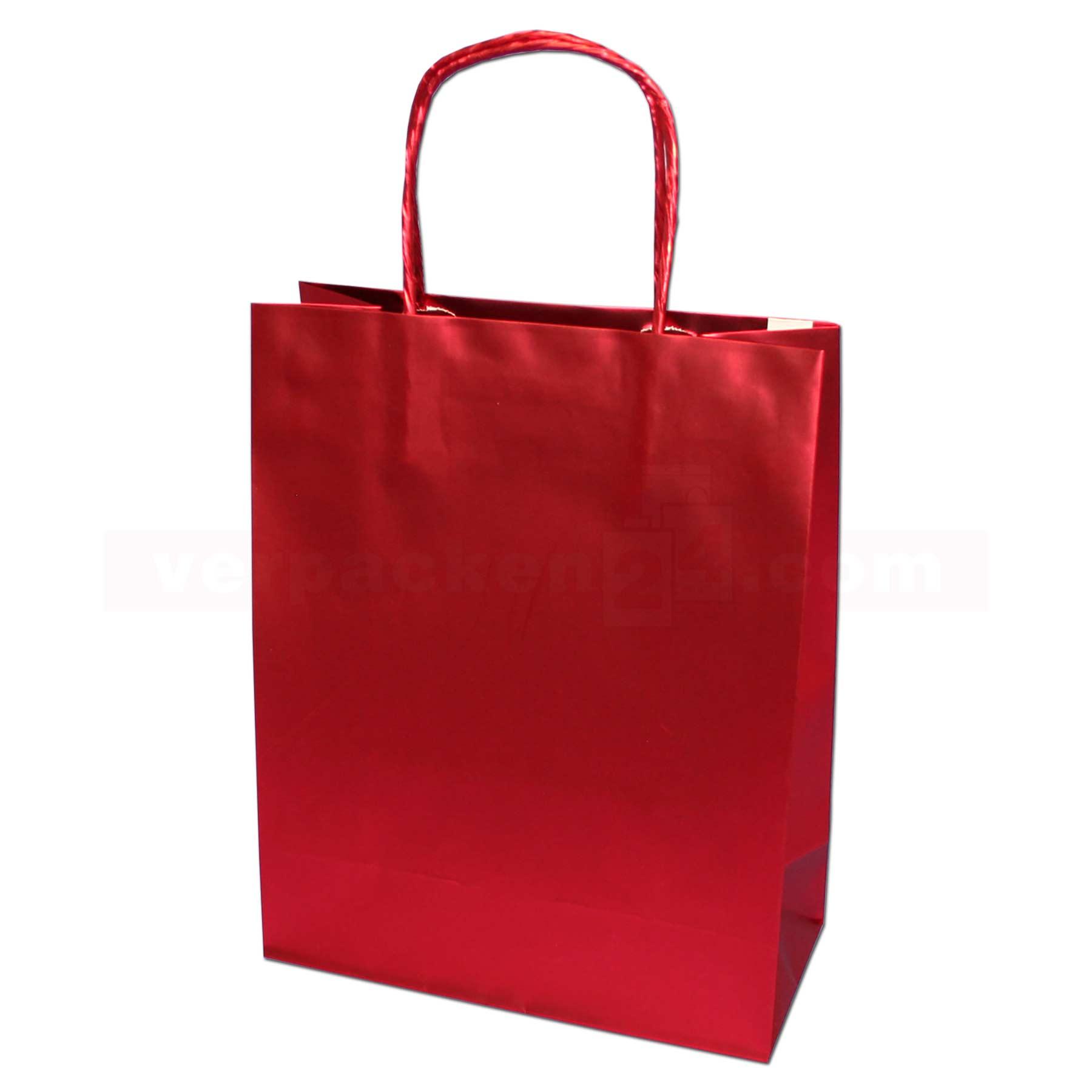 papiertragetasche mainz chrome rot 22 10x27cm online shop. Black Bedroom Furniture Sets. Home Design Ideas