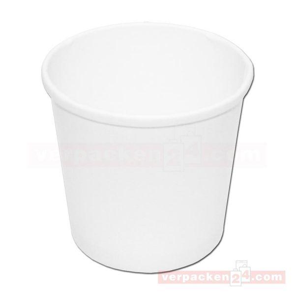 Soup to Go - Becher - Hartpapier weiß - Suppenbecher